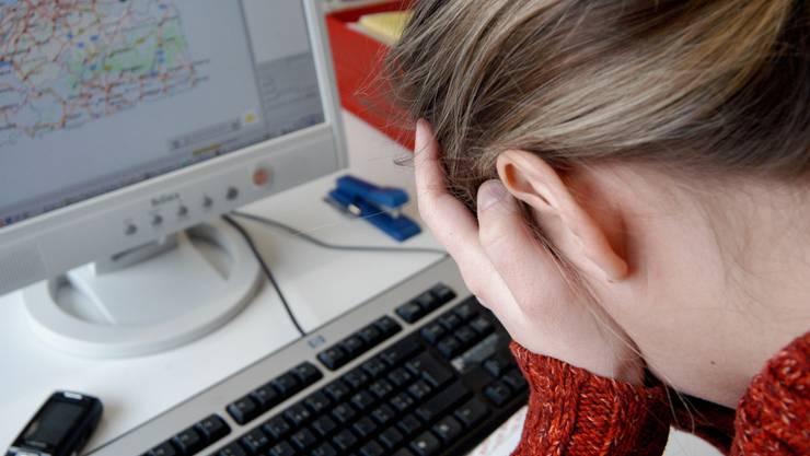 Diagnose Burn-out: Psychiater stellen immer mehr mit dem Arbeitsplatz assoziierte Erkrankungen fest.