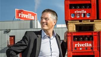 Rivella-Chef Erland Brügger: Er selbst trinkt am liebsten Rivella Grün. Chris Iseli