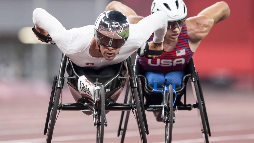 Marcel Hug überzeugend in den Final über 5000 m