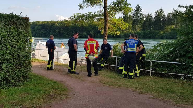 Am Montagabend wurde bei Bad Säckingen ein toter Schwimmer aus dem Rhein geborgen.