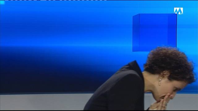 «Pardon, mir isch grad wahnsinnig schlächt»: Tele-M1-Moderatorin bricht die News-Sendung ab