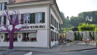 Das Dorf mit dem Bad Kyburg und dem «Buechischlössli».