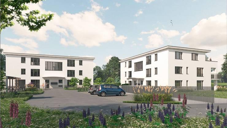 An der Vorderen Gasse in Wolfwil werden 15 Seniorenwohnungen gebaut.