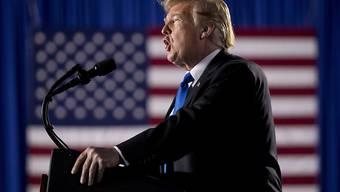 Verstösst nach Ansicht von mindestens 16 US-Bundesstaaten gegen die Verfassung: Präsident Donald Trump.