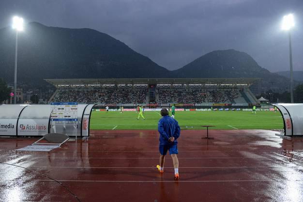 Die Zuschauer bekamen das Super-League-Spiel nicht über die gesamte Dauer zu sehen.