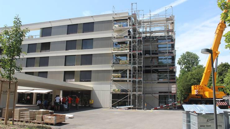 Auf Sanierungen im grossen Stil wird wohl erstmal verzichtet. Hier Impressionen vom Neubau des Alterszentrums aus dem Jahr 2017 (Archivbild).