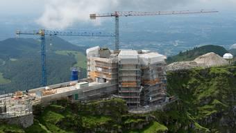 Eine Baustelle im Kanton Tessin. (Symbolbild)