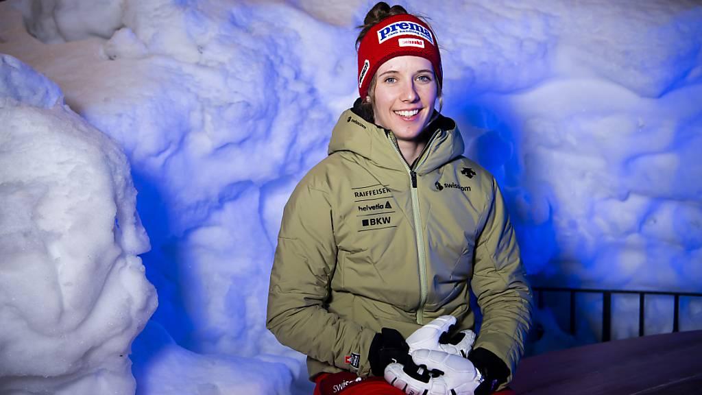 Camille Rast zum zweiten Mal Schweizer Riesenslalom-Meisterin