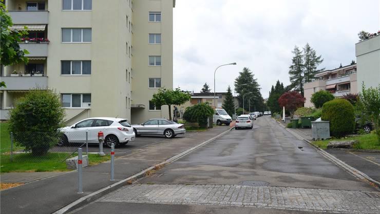 Die Sonnenbergstrasse ist nicht mehr zweigeteilt. Foto: amo
