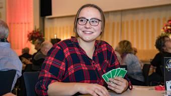 Viviane Steffen ist die zweite Schieber-Meisterin. «Ich hatte saumässiges Glück», sagt sie über den Sieg.
