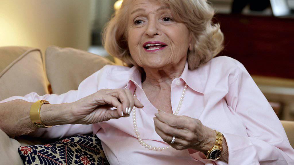 Ihr Prozess machte den Unterschied: Edith Windsor schaffte es, dass der Defense of Marriace Act in den USA gekippt wurde. Nun starb sie mit 88 Jahren.