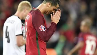 Ein Abend zum Vergessen: Cristiano Ronaldo