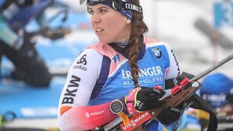 Lena Häcki belegte im Sprint in Ruhpolding nach zwei Schiessfehlern den 24. Rang und war damit die beste Schweizerin