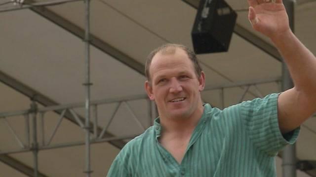 Bruno Gisler gewinnt 111. Kantonalschwingfest