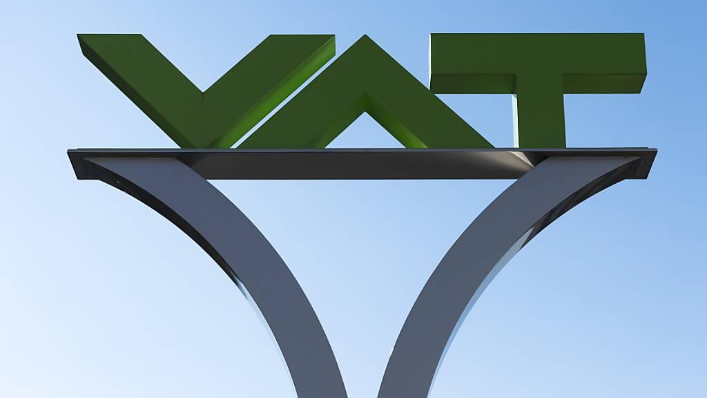 Der Ostschweizer Vakuumventil-Hersteller VAT ist gut ins 2021 gestartet. (Archivbild)