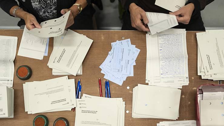 Bei der Auszählung der Thurgauer Grossrats-Wahlen vom 15. März kam es im Bezirk Frauenfeld zu Unregelmässigkeiten. Die GLP sieht sich um einen Sitz betrogen (Archivbild).