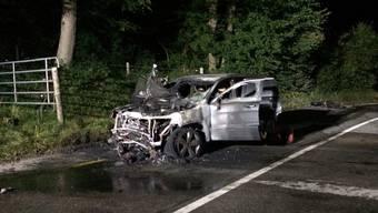 Mit diesem Auto prallte der Motorradfahrer beim tragischen Unfall zusammen.