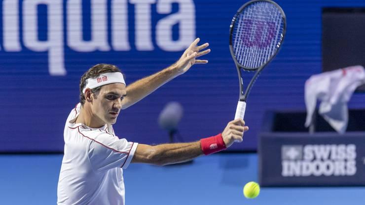 Roger Federer hat auf dem Center Court jederzeit alles im Griff.