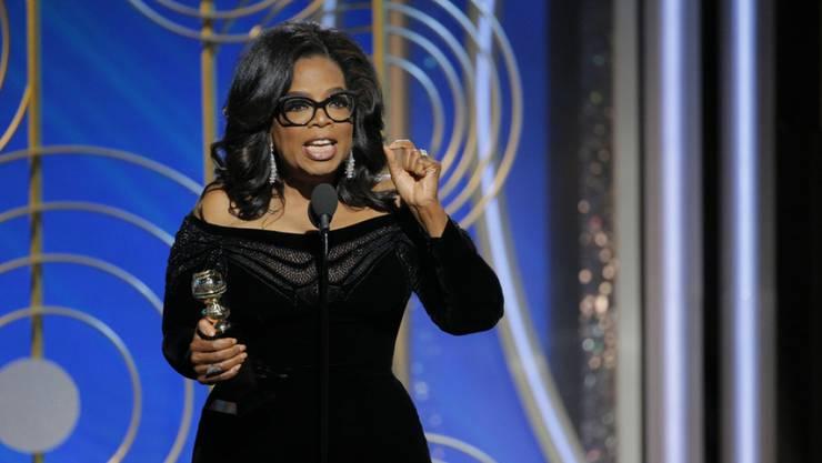 Oprah Winfrey möchte trotz ihrer Popularität nach der Rede bei den Golden Globes 2018 nicht US-Präsidentin werden. (Archiv)