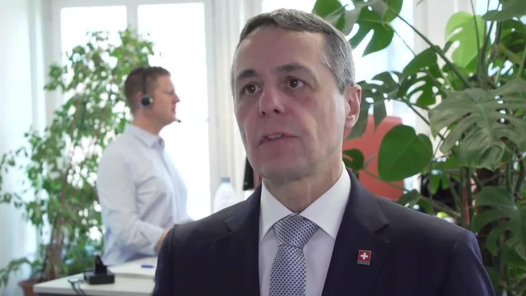 Cassis: Ausland-Schweizer sollen jetzt zurückkommen (17.3.2020)