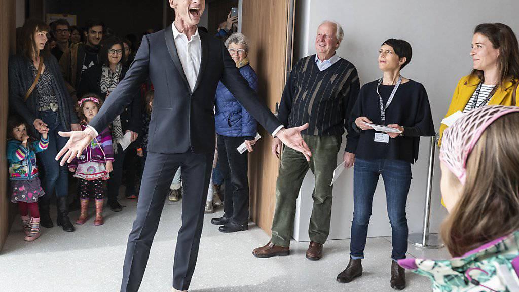 Grand Prix Theater geht an Performancekünstler Yan Duyvendak
