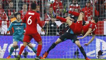 Bayern München schlägt Arsenal in der Champions League mit 5:1