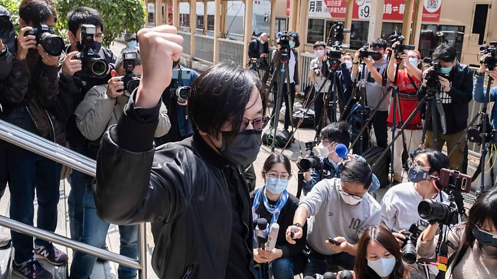 Wahl abgehalten: 47 Aktivisten in Hongkong angeklagt