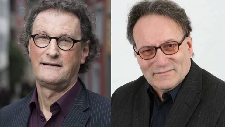 Badens Stadtammann Geri Müller (links) holt Pirmin Meier als 1.-August-Redner.