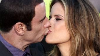 Kelly Preston mit ihrem Gatten John Travolta im Juni in Los Angeles (Archiv)