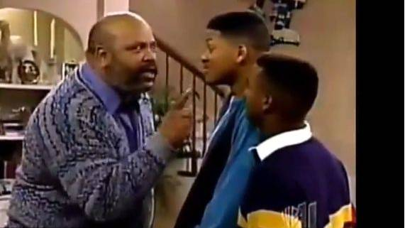 «Uncle Phil» James Avery.