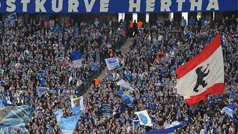 Die Hertha-Fans jubeln künftig wieder in der obersten Liga