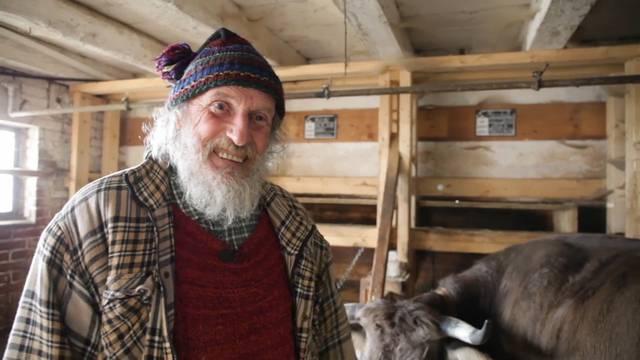 Armin Capaul mobilisiert seine letzten Kräfte für die Hornkühe