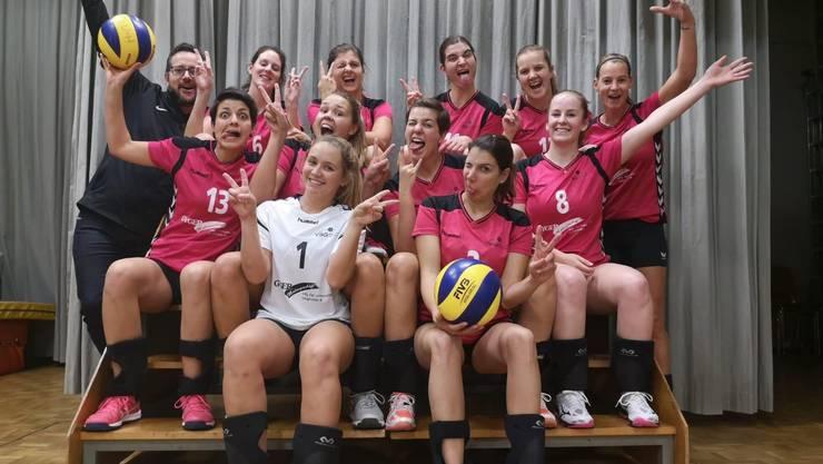 Das Damen 1-Team hat den Aufstieg geschafft