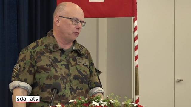 Armeechef Rebord zu Cyberattacken, Rekruten und künftigen Armeeleistungen
