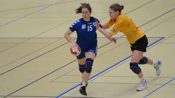 Links ist Nr.15 Eliane Estermann (Basel Regio)
