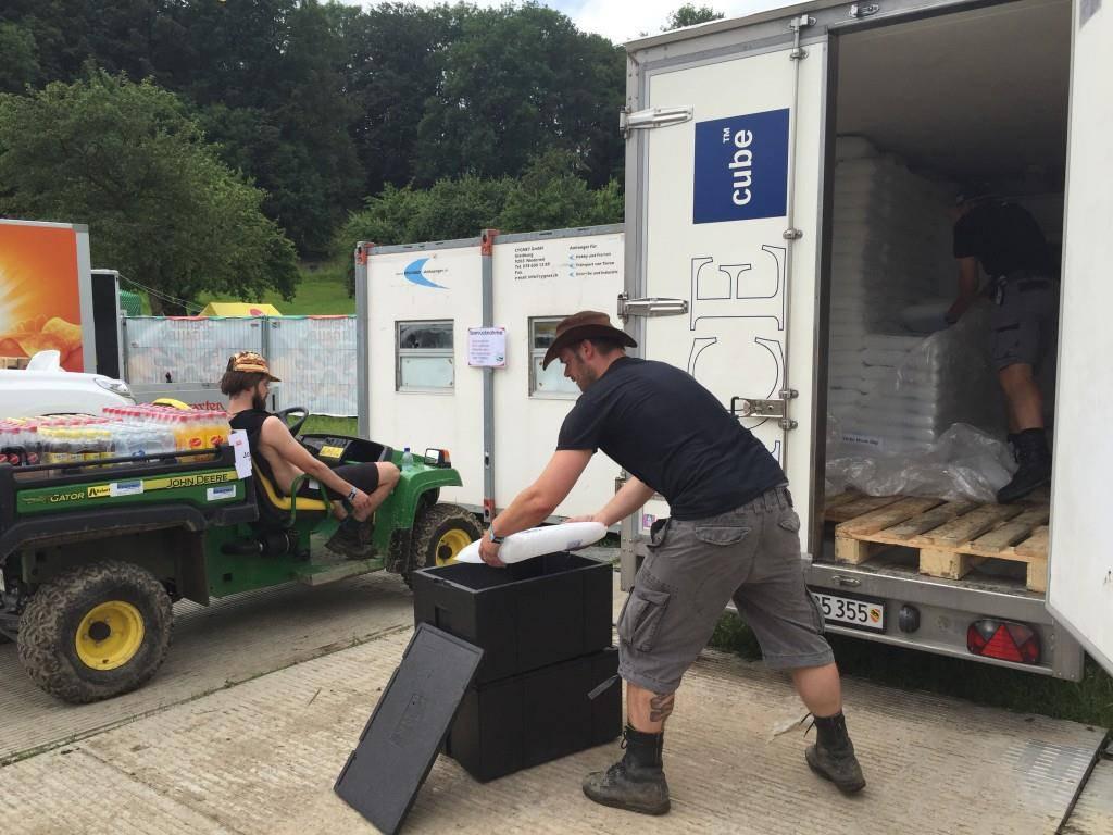 Die Logistik am OASG