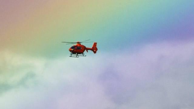 Ein Helikopter (Symbolbild)