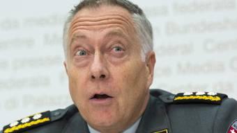 Armeechef André Blattmann: «Bei einem Informatiker ist eas Ja egal, wie weit und wie hoch er springen kann».