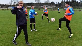 Fulenbach mit Trainer Martin Hert steigt als Spitzenreiter in die Rückrunde.