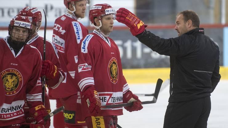 Langnaus neuer Coach, Scot Beattie.