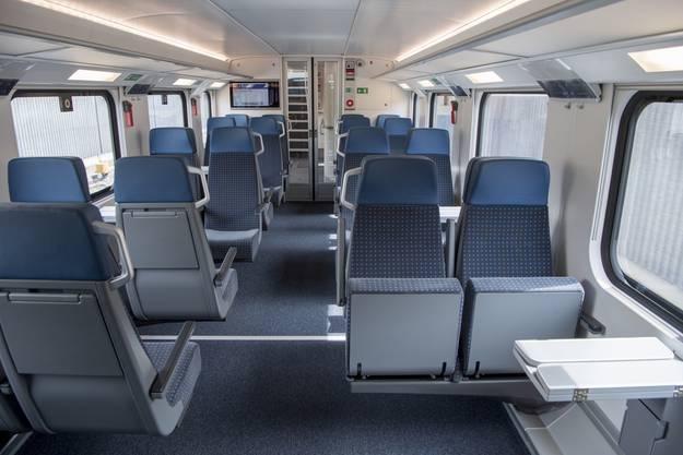 Der Doppelstöcker bietet Platz für über 1300 Passagiere