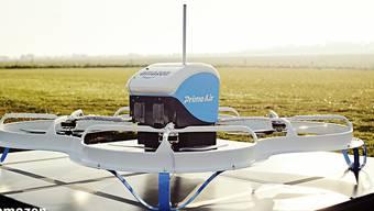 """Soll bald Zahnpasta und Rasierklingen ausliefern: die Amazon-Drohne """"Prime Air"""". (Archivbild)"""