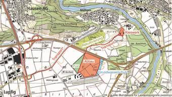 Holcim plant eine Erweiterung des Kiesabbaus im Gebiet «Lindenacher-Ost».