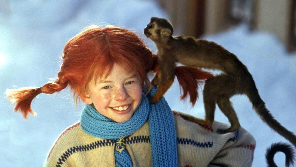 Die Schauspielerin Inger Nilsson als Pippi Langstrumpf: Auf deutsch heisst ihr Lied «Zwei mal drei macht vier». Dieser deutsche Text verstösst wohl gegen das Urheberrecht. (Archivbild)