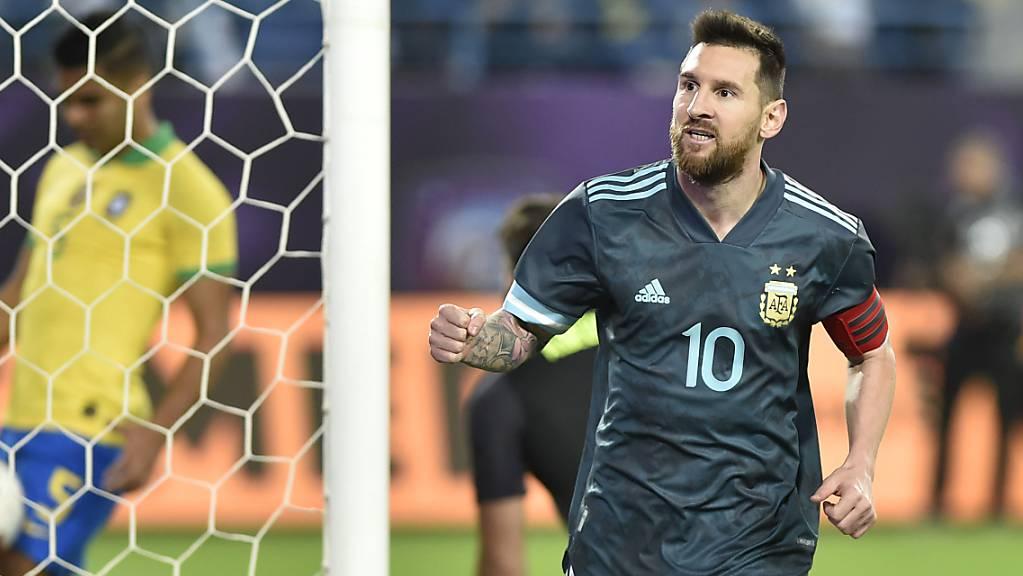 Lionel Messi führt Argentinien zum Sieg über den Erzrivalen Brasilien