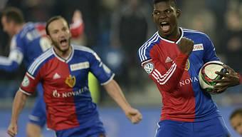 Bilder vom Spiel FC Basel - Sion