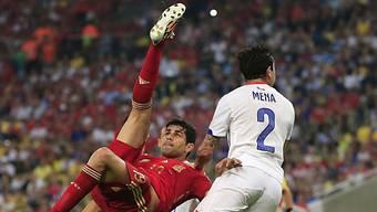 Blieb an der WM ohne Torerfolg für Spanien: Diego Costa