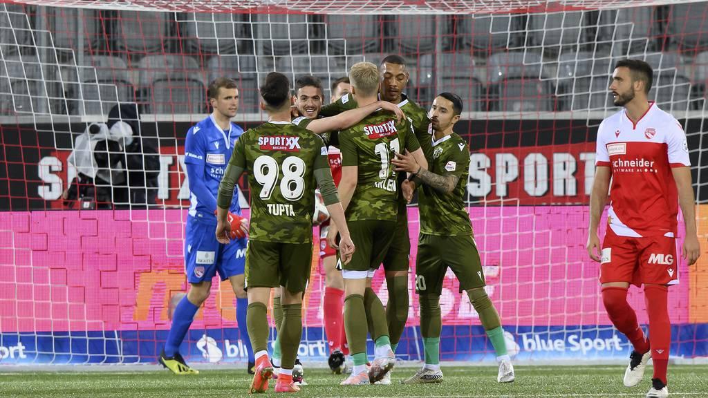Sion legt im Barrage-Hinspiel gegen Thun den Grundstein für den Ligaerhalt