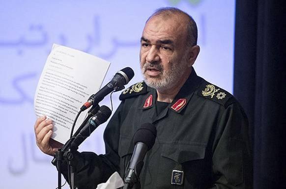 Hussein Salami, Kommandant der iranischen Revolutionsgarden.