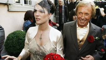 Claus Theo Gärtner und Sarah Würgler sind seit 2008 verheiratet, nun muss das Paar in Basel eine neue Bleibe suchen.